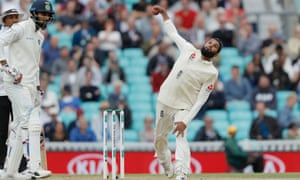 Adil Rashid claimed the key wicket of KL Rahul as England closed out victory over India in the fifth Test.