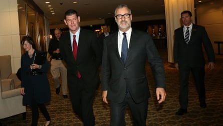 James Packer and Rob Rankin.