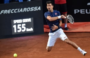 Novak Djokovic was at his blistering best against Dominic Thiem, winning 6-0, 6-1 in less than an hour.