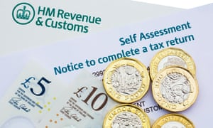 HMRC Self Assessment Notice to complete a UK tax return