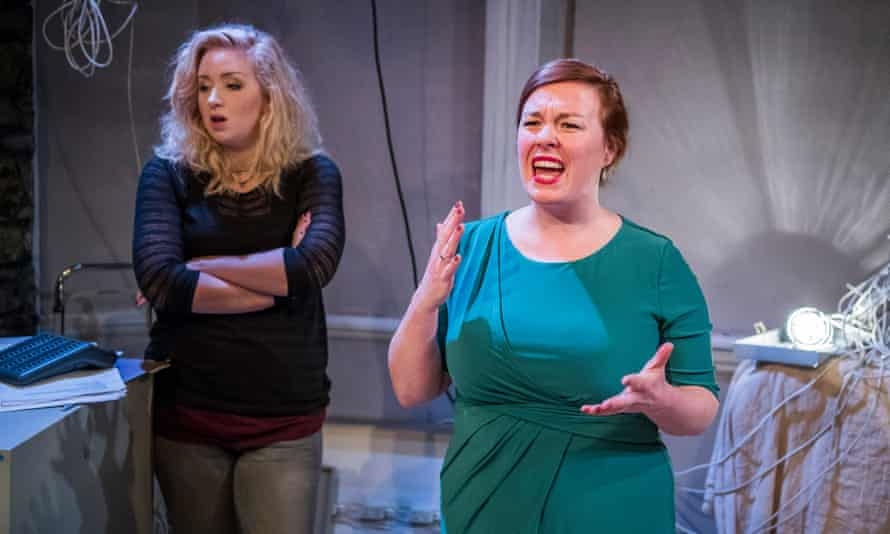 A family affair … Katrina McKeever, left, and Lynsey-Anne Moffat in Everything Between Us.