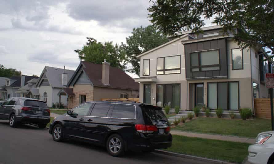 A new condo building in Denver.