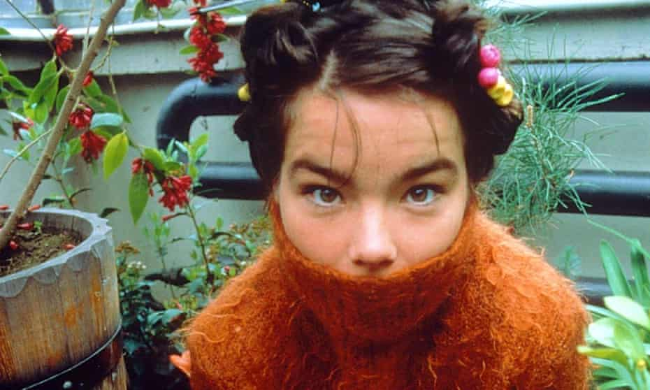 Björk … Marlon James looked to her album Post for answers.
