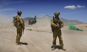 Australian defence force in Afghanistan