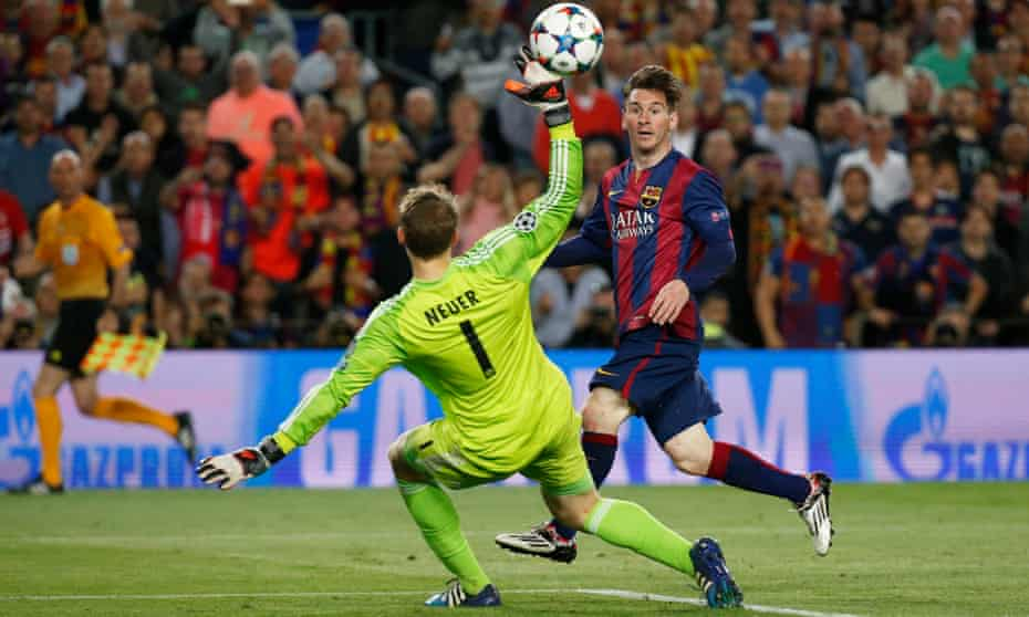Lionel Messi scores as Barcelona see off Pep Guardiola's Bayern Munich in 2015