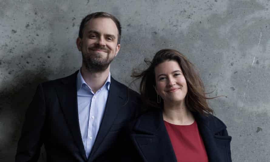 Quarantined ... Sam Armstrong and Katharine Dain.