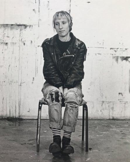Sam Taylor-Johnson at Goldsmiths, circa 1992.