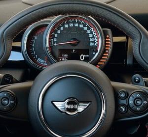 Photograph of BMW Mini John Cooper Works 2015 interior