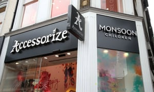 A Monsoon Accessorize store