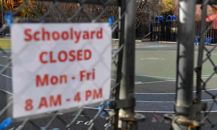 A closed school in Brooklyn
