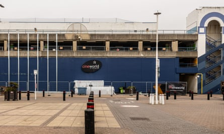 Cineworld in Brighton, currently closed due to the coronavirus outbreak.