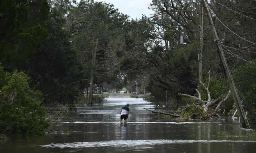 Hurricane Ida battered Louisiana, flooding roads and knocking out power to more than a million people.