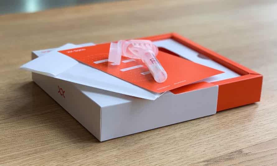 Sano's saliva testing kit.