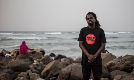 The Gambian rapper Jerreh Badjie, known as Retsam
