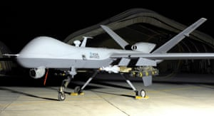 A Reaper drone from the RAF's 39 Squadron.