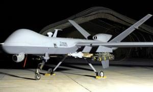 An RAF MQ-9 Reaper drone