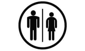 Image result for pictographs of male female bathrooms