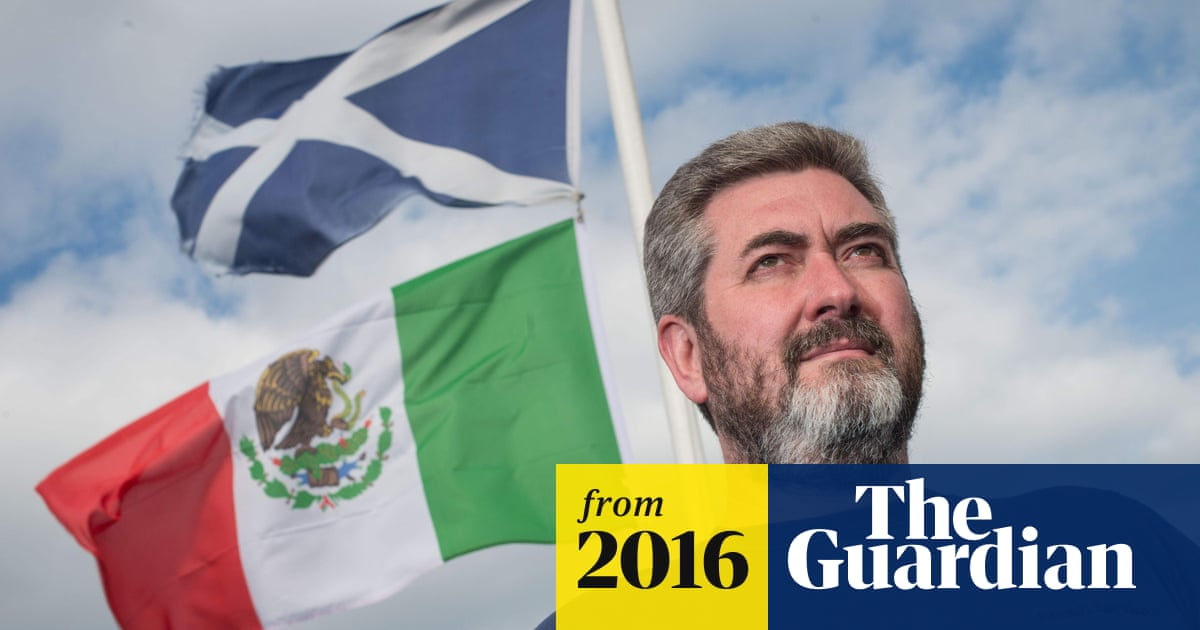 0773915832 Mexican flags raised in view of Donald Trump's Scotland golf course ...
