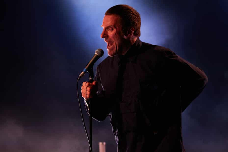 Jason Williamson of Sleaford Mods performs at South Facing festival.