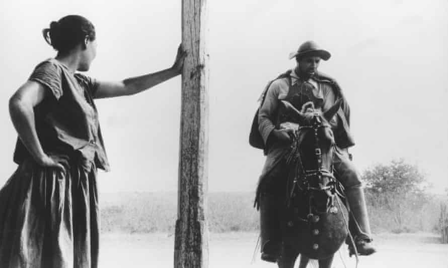 Barren Lives (Vidas Secas, 1963) was Nelson Pereira dos Santos's masterpiece. It follows a poverty-stricken family forced to live in the Sertão outback region of Brazil.