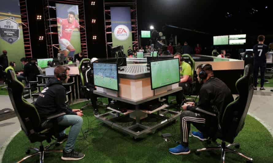 A 2017 FIFA Ultimate Team regional final. The mode has become a staple element of the series