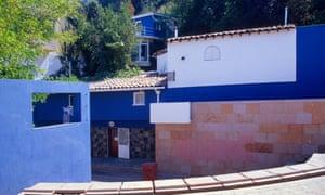 La Chascona . Pablo Neruda's House-Museum. Santiago. Chile.