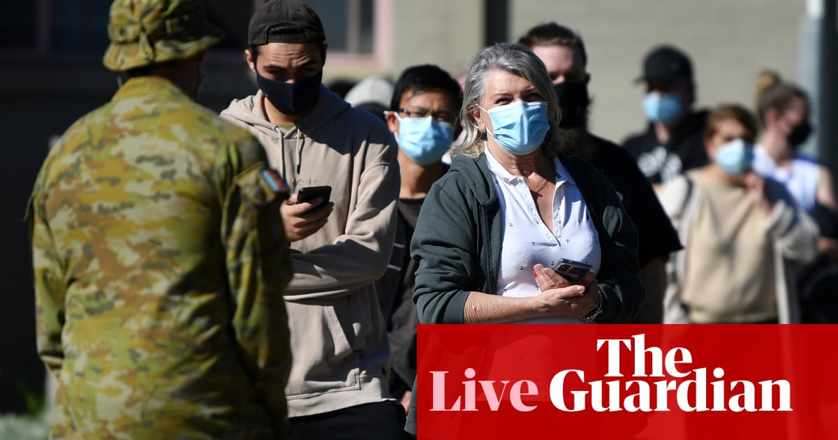 South-west Sydney apartment block reportedly locked down; debate over vaccine incentives – live