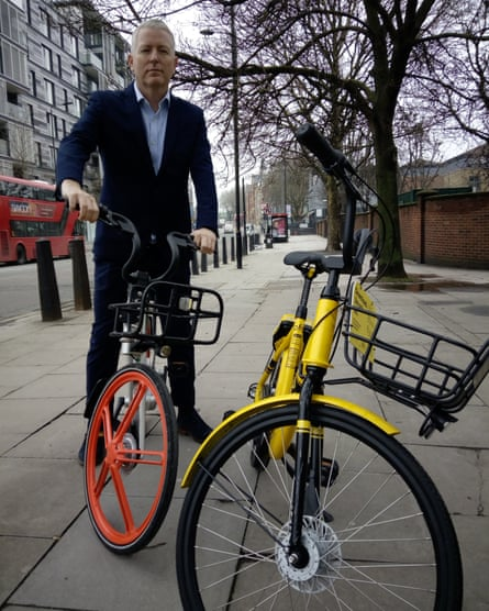 Patrick Collinson, Money editor at the Guardian, tests Mobike and Ofo bikes.