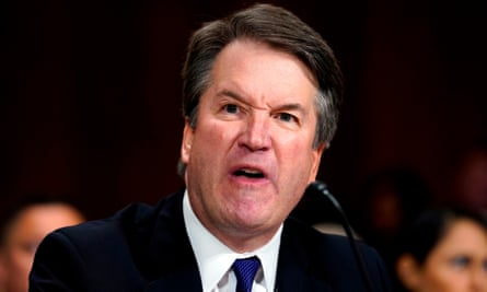Brett Kavanaugh gets agitated in front of a Senate judiciary committee confirmation hearing in Washington. Despite the outburst, he went on to be appointed to the US supreme court.