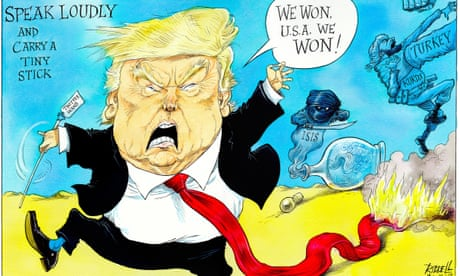 Donald Trump unleashes the genie of Isis – cartoon