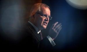Federal treasurer Scott Morrison
