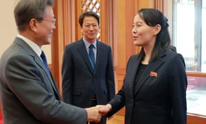 Kim Yo Jong Sister Of North Korea S Kim Jong Un Now De Facto Second In Command World News The Guardian