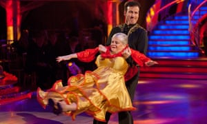 Ann Widdecombe in Strictly Come Dancing