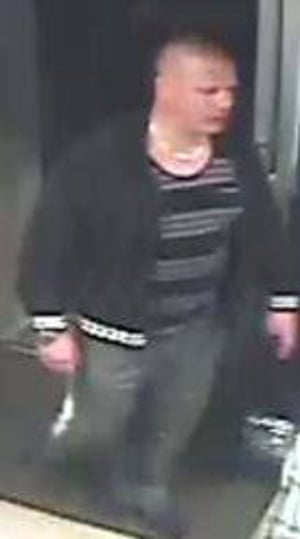 CCTV images released in connection with racially aggravated assault in Milton Keynes.