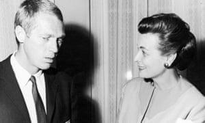 Margaret Hinxman and Steve McQueen in 1966