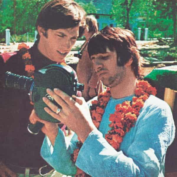 Ringo with Paul Saltzman.
