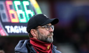 Jürgen Klopp: 'None of the top seven clubs asked for any advantage. We just knew, because we knew our schedule, that it would be incredibly difficult.'