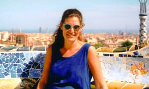 Hel Loader in her beloved dress in Barcelona in 2000.