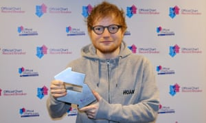The singles chart rules were last changed in July 2017, four months after all 16 tracks from Ed Sheeran's third album ÷ entered the Top 20.