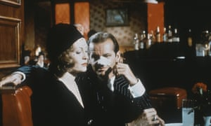 Faye Dunaway and Jack Nicholson in Chinatown, 1974. Robert Evans promised each of them either an Oscar nomination for their work on the movie or a luxury car.