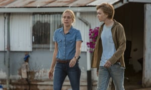 … Chloë Sevigny as a jockey and Charlie Plummer in Lean on Pete.