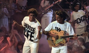 Wham! performing on ITV's Razzmatazz, 1984,