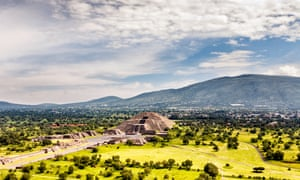 Teotihuacán, about 30 miles outside Mexico City. The discovery of liquid mercury beneath one of its pyramids fuelled hopes of finding a royal tomb – but what archaeologists did find was unexpected.