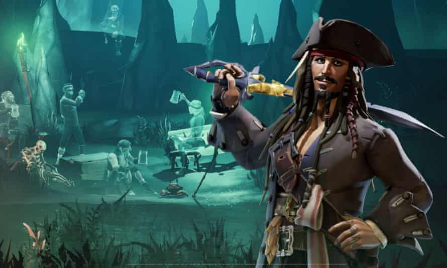 Sea of Thieves: Captain Jack Sparrow.