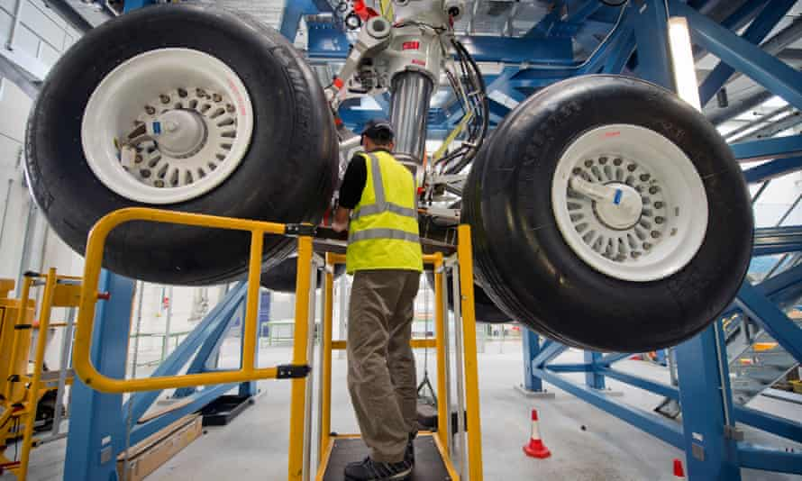 The Airbus factory in Bristol – Brexit has cast doubt on the company's future in Britain.