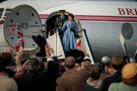 Still from The Crown.