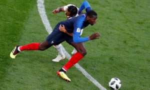 Paul Pogba's exuberance has been reined in and has contributed to fine, disciplined performances in Russia.