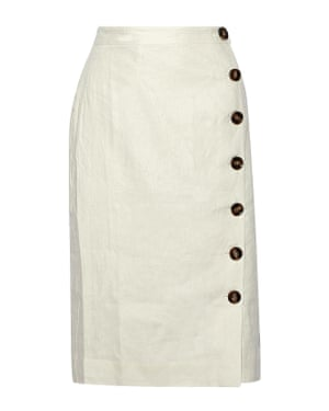Cream buttoned, £90, by Iris & Ink, from theoutnet.com