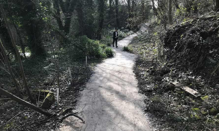 New stone paths have been created to provide access to the beck.