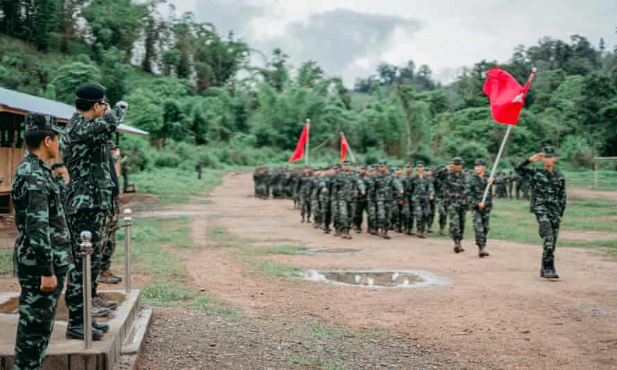Rise of armed civilian groups in Myanmar fuels fears of full-scale civil  war | Myanmar | The Guardian